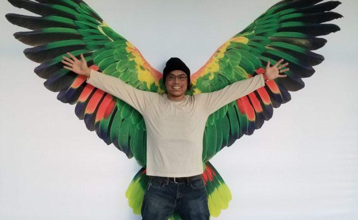 Clark-County-Poet-Laureate-Armin-Tolentino-having-fun-at-OMSI