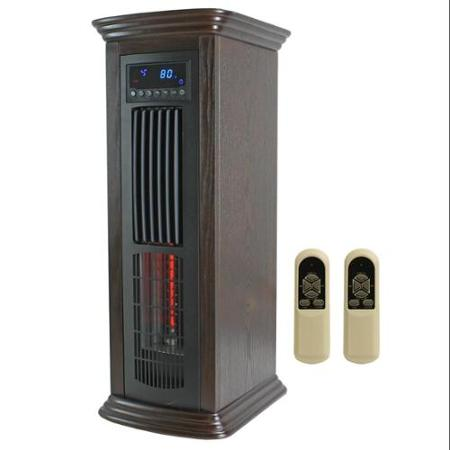 Save $30 on the Lifepro Tower Infrared Heater with Adjustable Timer