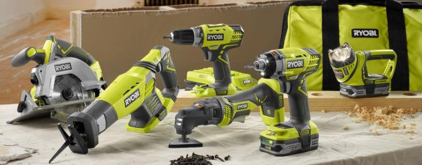 Ryobi ONE+ 18-volt ultimate combo 6-tool kit for $199