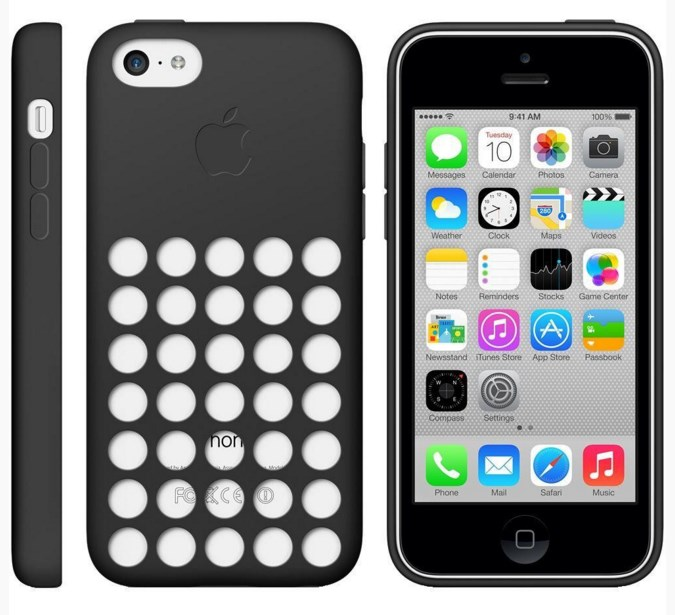 Apple iPhone 5c 16GB smartphone + free case for $100