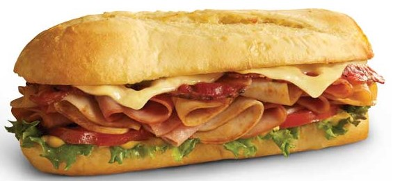 Free 6″ sub when you download the Penn Station app
