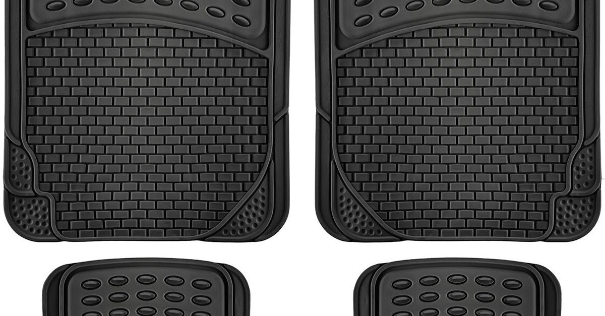 Price drop! Set of 4 auto floor mats for $8, free shipping
