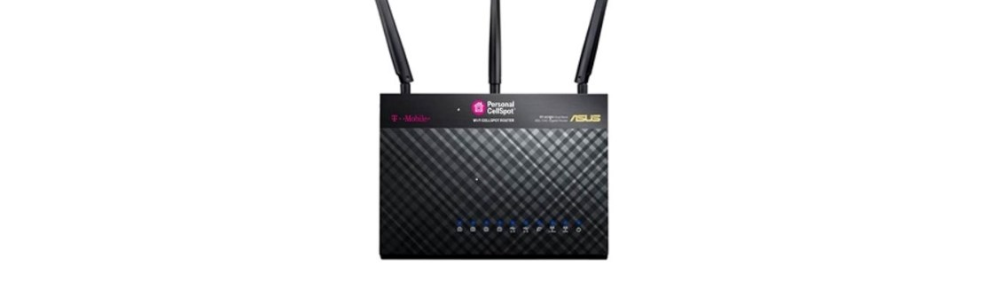 Certified refurbished ASUS wireless-AC1900 dual-band gigabit router for $50