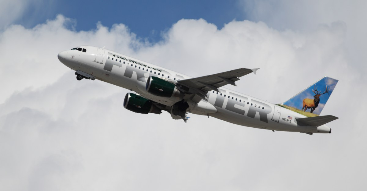Today only: Frontier flights from $39 one-way
