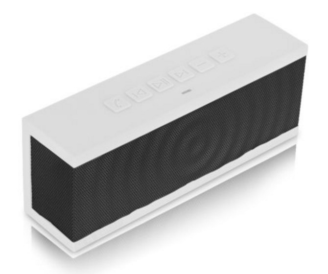 BÖHM  SoundBlock portable Bluetooth speaker for $20