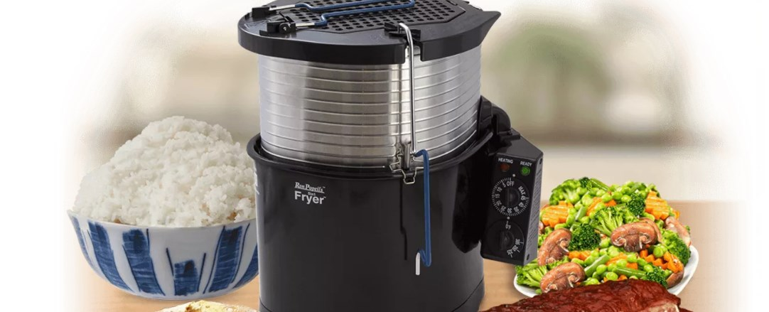 Ron Popeil 5-in-1 cooking system & turkey fryer for $35 today only