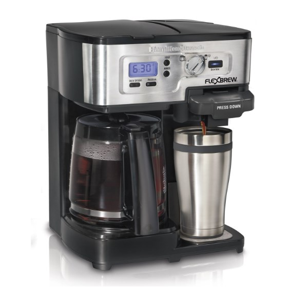 Today only: Hamilton Beach FlexBrew 2-way coffee maker for $39 shipped