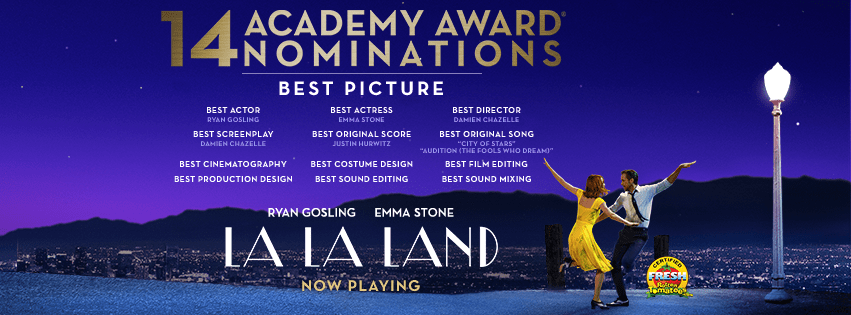 Buy one, get one free tickets for La La Land
