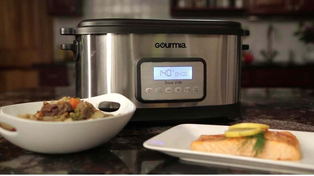 Gourmia 9-quart sous vide water oven cooker for $80