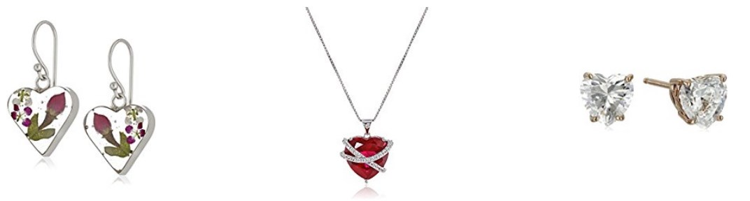 Save up to 53% on Valentine's Day jewelry at Amazon today
