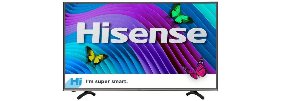 65″ Hisense 4K smart LED HDTV for $578 at Sam's Club