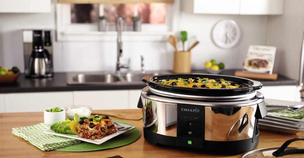 Crock-Pot WiFi enabled 6-quart slow cooker for $78