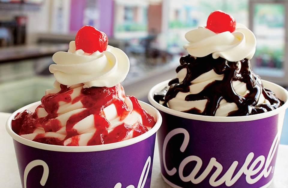 Carvel Ice Cream: Buy one, get one FREE sundaes on Wednesdays!