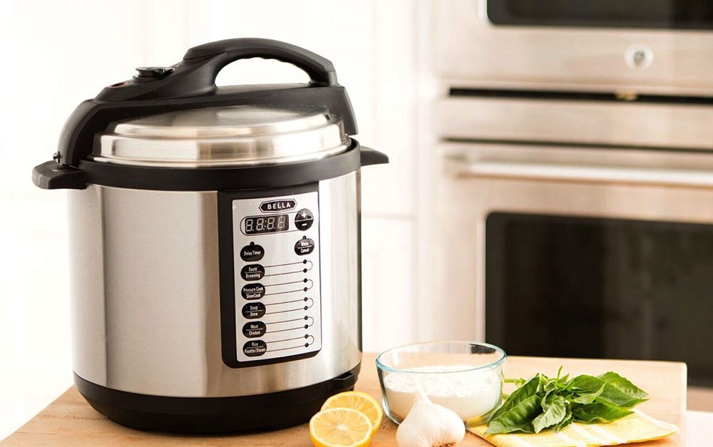 Today only: Bella 6-quart pressure cooker for $40, free shipping