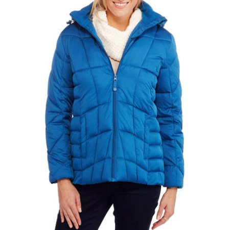 Price drop! Faded Glory women's hooded puffer jacket for $8