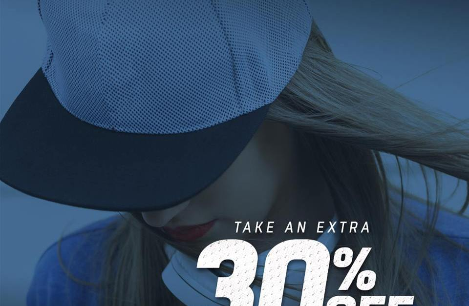 Take 30% off all clearance items at Lids right now