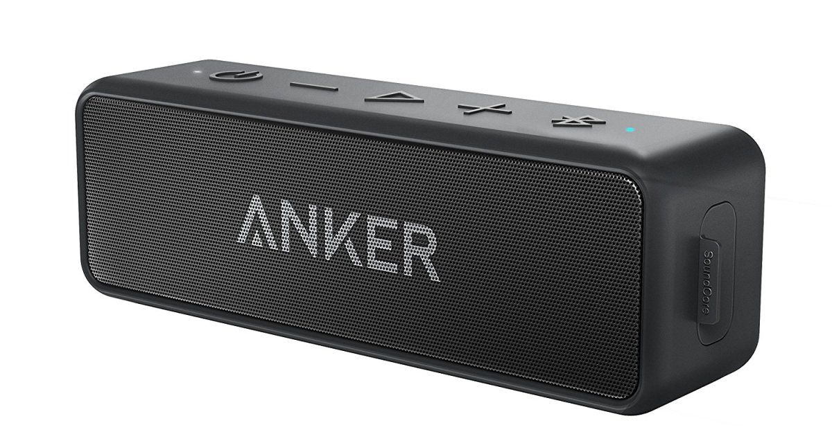 Anker SoundCore 2 portable Bluetooth speaker for $30