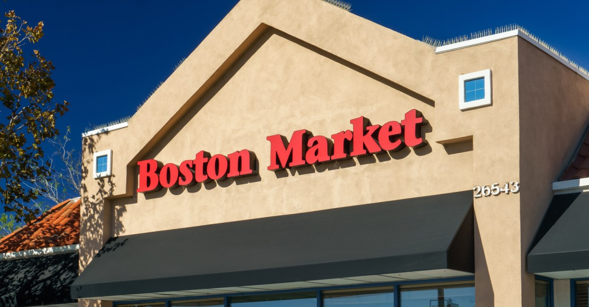 Boston Market: Buy one meal & drink, get one meal free