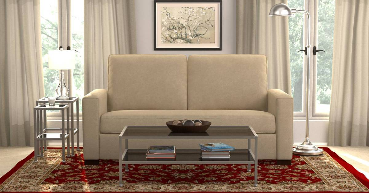 Millona SoFast compact microfiber sofa for $251, free shipping