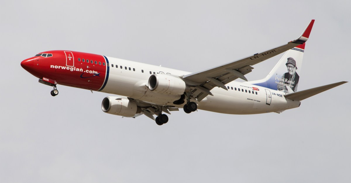 Norwegian Airlines flights to Europe from $120 one-way