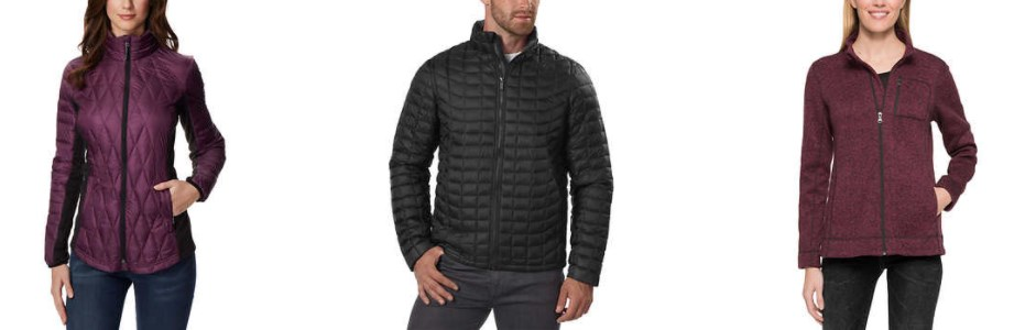 Men's and women's jackets from $10 at Costco