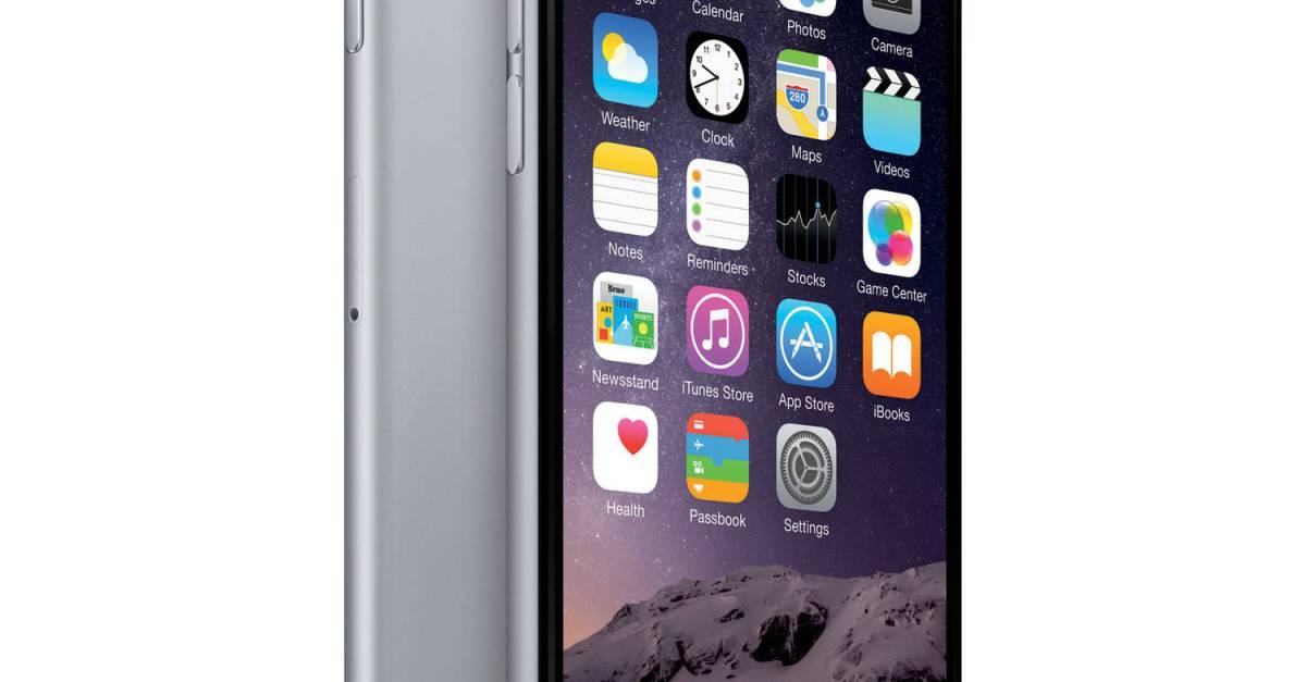Straight Talk 32GB Apple iPhone 6 prepaid smartphone for $99
