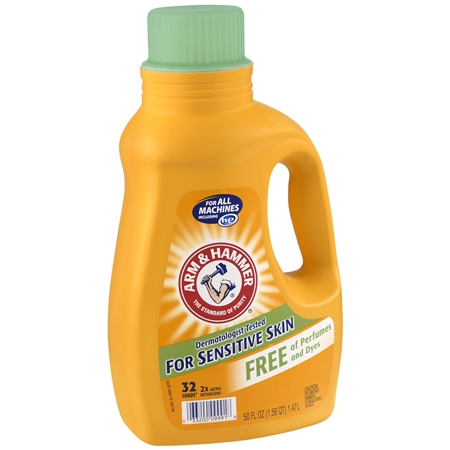 Arm & Hammer laundry detergent for $2!