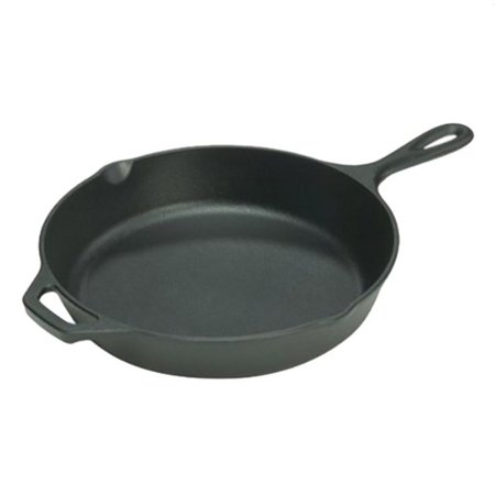 Lodge 10.25-inch pre-seasoned cast iron skillet for $15