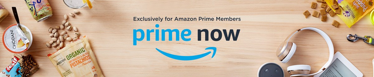 Get $10 off your first Amazon Prime Now order!