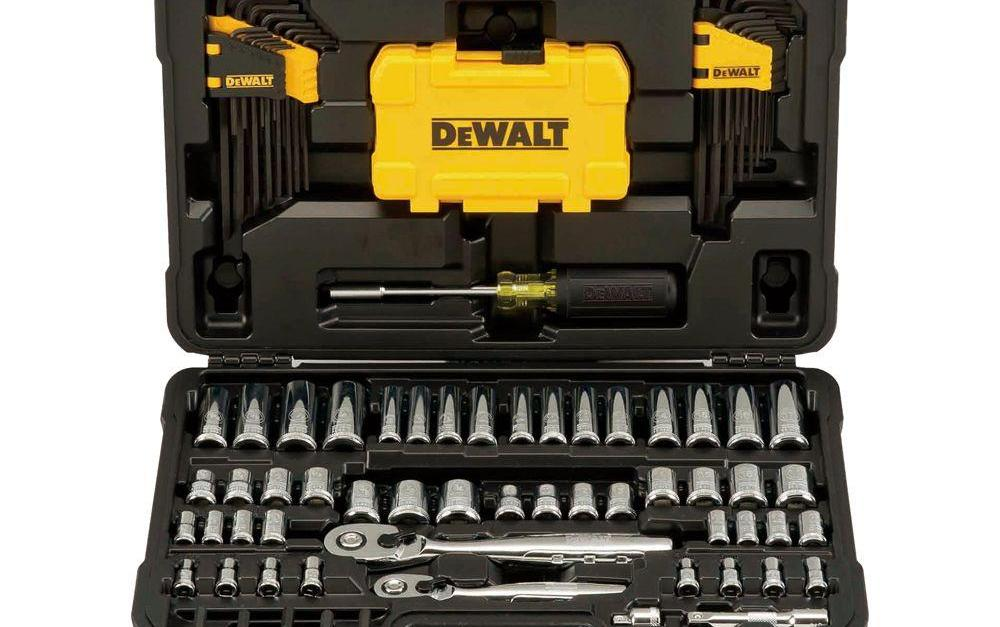 Dewalt Mechanics 108-piece tool set for $60, free shipping