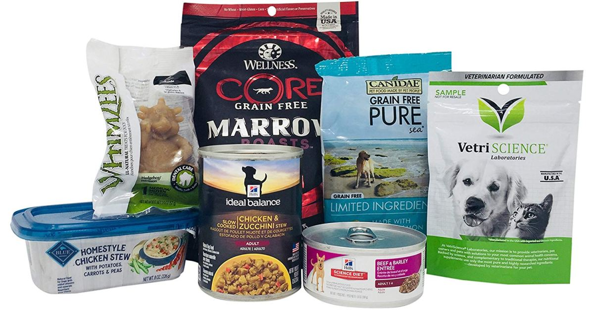 Prime members: Here's how to get $4 back with this dog food and treats sample box!