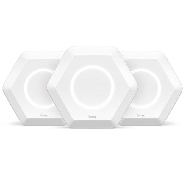 Luma whole home Wi-Fi router 3-pack for $99.99