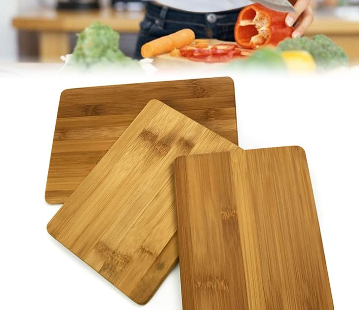 Bamboo cutting board for $4.49 shipped