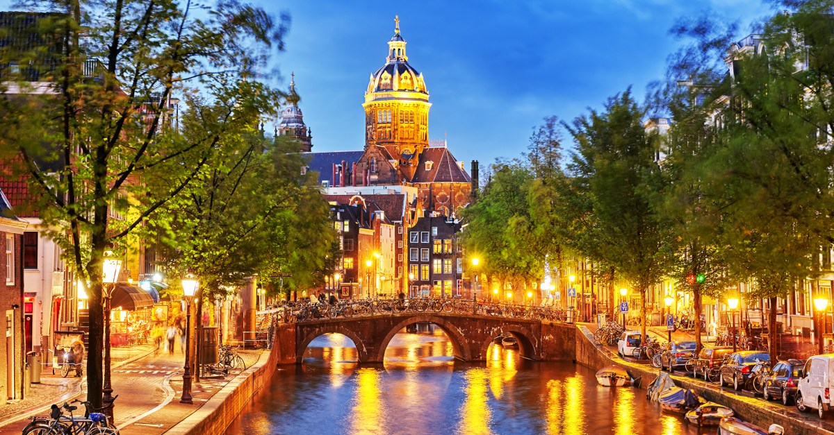 Flights to Amsterdam in the $400s round-trip!
