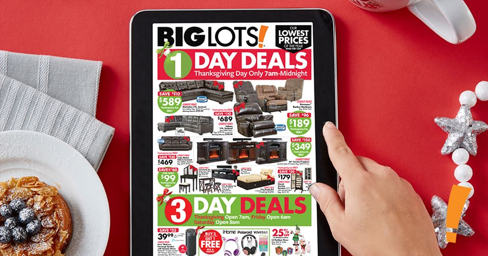 Big Lots official Black Friday ad: Here are the best deals!