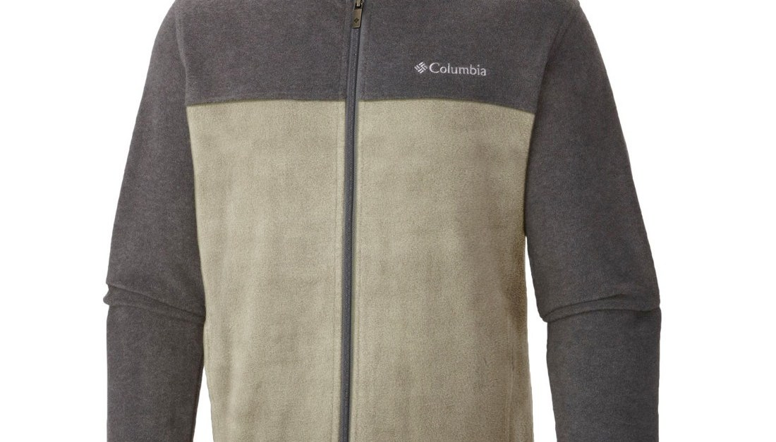 Columbia two tone men's fleece jacket for $19 shipped