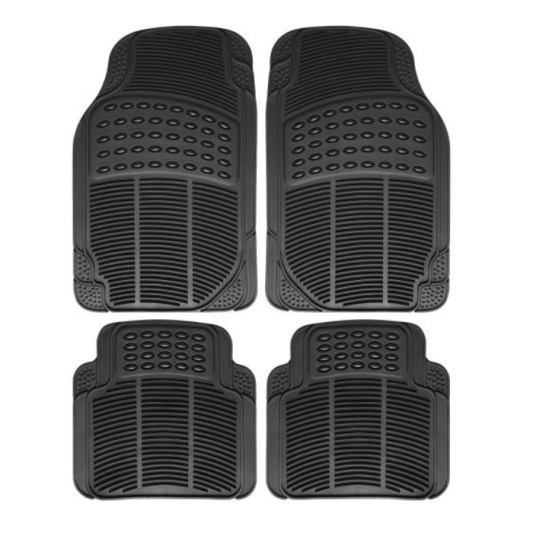 OxGord 4-piece all-weather car floor mat set for $13, free shipping