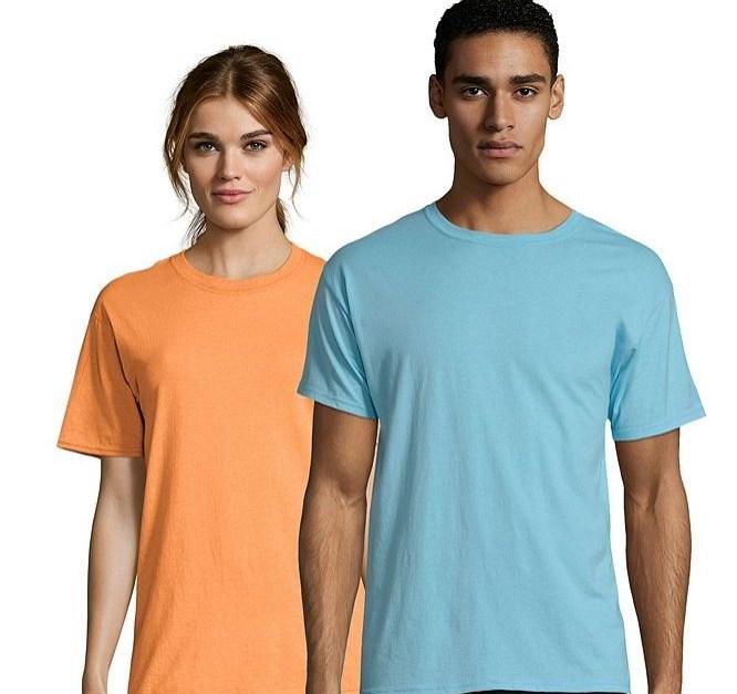 Hanes men's & women's X-Temp t-shirt for $6, free shipping
