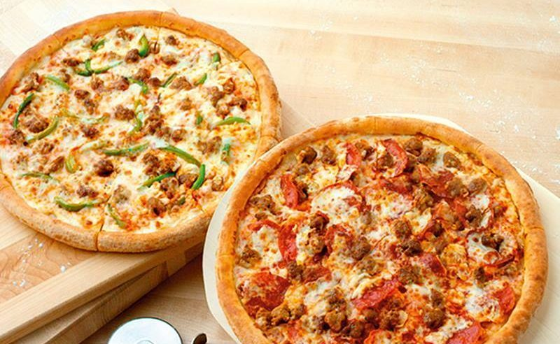 Free future large 3-topping pizza when you spend $20 at Papa John's