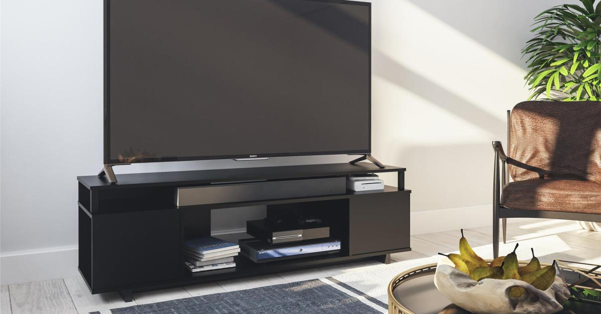 Ameriwood Home Carson TV stand for $59 with free shipping