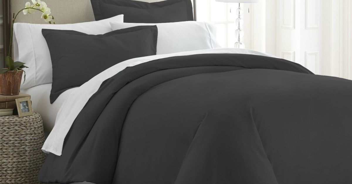 3-piece duvet cover set from $19, free shipping