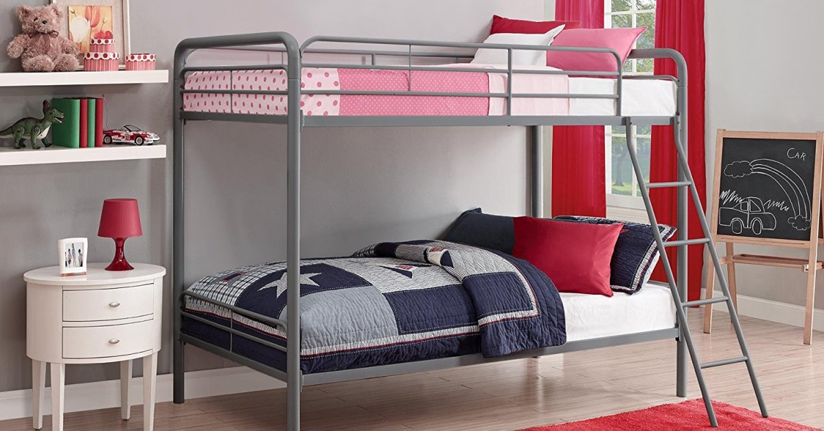 Dph Twin Over Twin Bunk Bed For 133 Free Shipping Clark Deals
