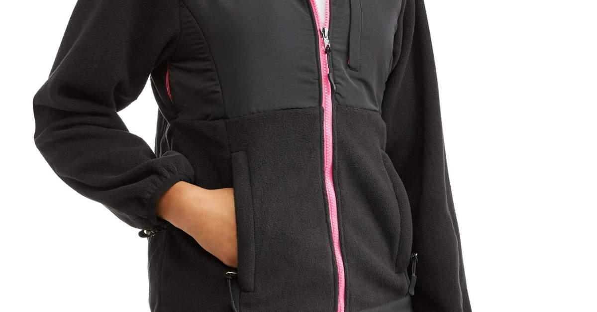 Price drop! Women's hooded Arctic fleece shell jacket for $2.50