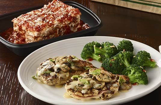 Enjoy FREE take-home lasagna at Carrabba's