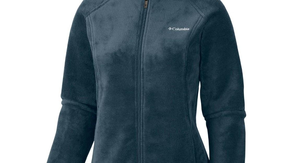 Columbia women's original mock neck zip up fleece jacket for $27, free shipping