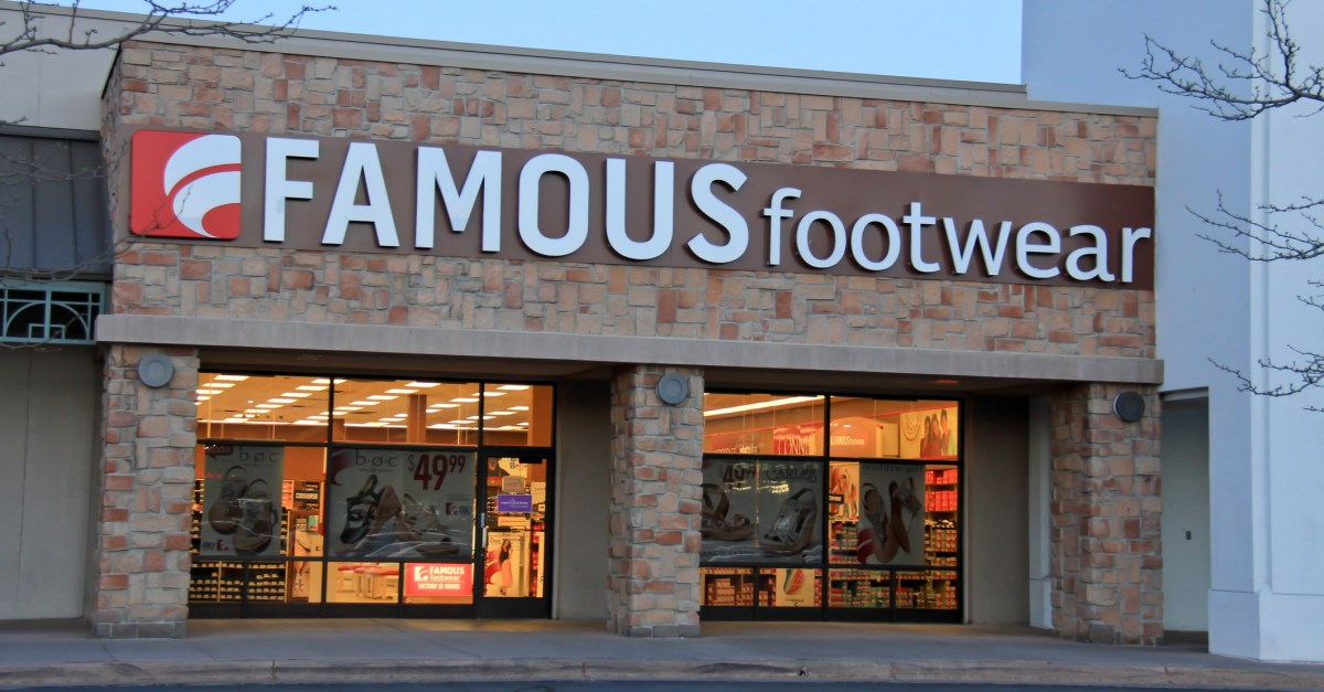 Famous Footwear coupon: Take 15% off your entire purchase