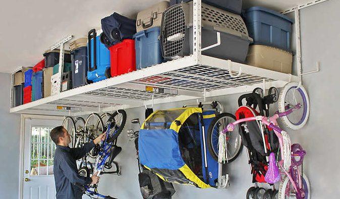 Costco members: SafeRacks overhead garage storage combo kit for $250 (Includes 2 racks)