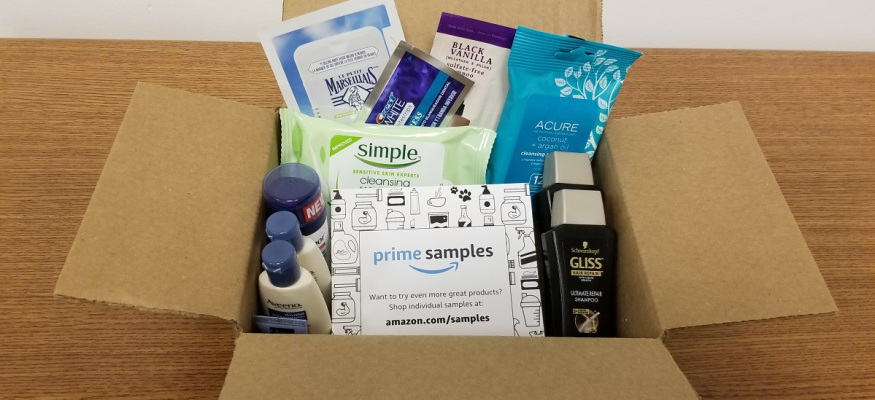 How Amazon Prime members can get lots of samples for practically free!