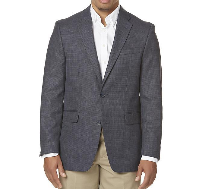 Save up to 75% on men's suits and sport coats