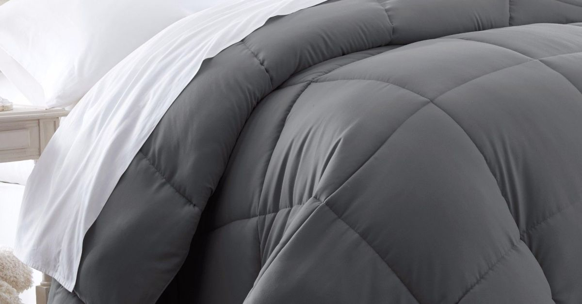 Premium goose down alternative comforters from $20, free shipping